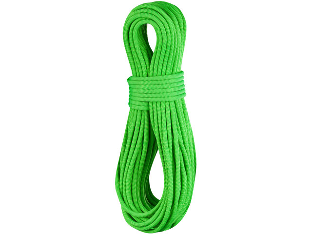 Edelrid Canary Pro Dry Rope 8,6mm 50m, neon-green